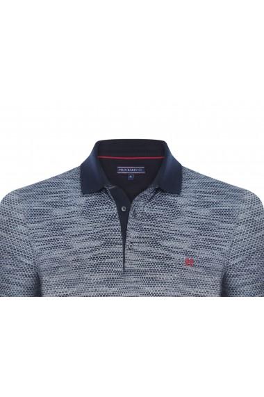 Tricou Polo FELIX HARDY FE890450 Bleumarin