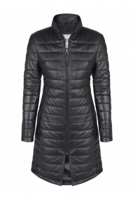 Jacheta din piele FELIX HARDY FE9552584 Negru