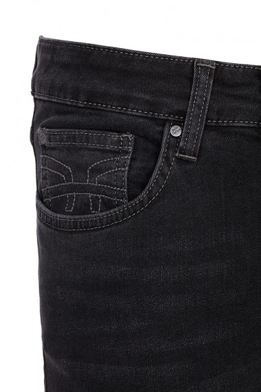 Jeansi Denim Culture FELIX-DENIM BLACK Negru - els
