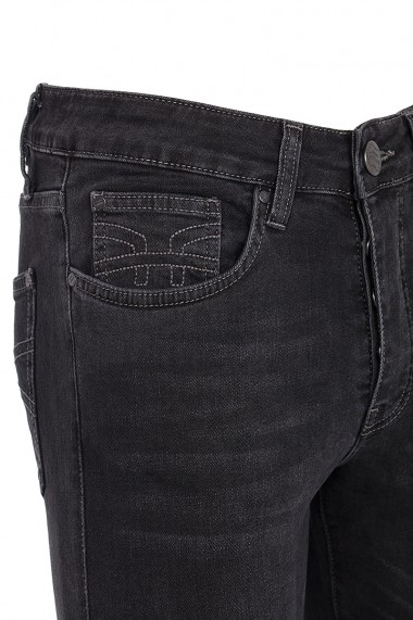 Jeansi Denim Culture FELIX-DENIM BLACK Negru