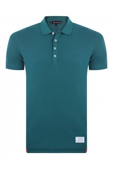 Tricou Polo GIORGIO DI MARE GI129576 Verde