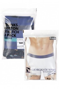 Set 3 boxeri Giorgio di Mare GI1362576 Negru