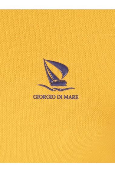 Tricou Polo GIORGIO DI MARE GI149625 Galben