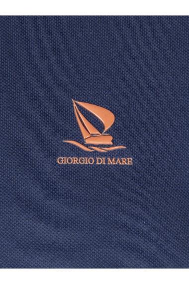 Tricou Polo GIORGIO DI MARE GI173662 Bleumarin