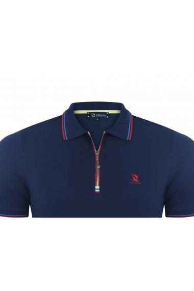 Tricou Polo GIORGIO DI MARE GI185480 Bleumarin