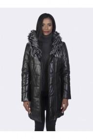 Jacheta din piele Giorgio di Mare GI2090348 Negru