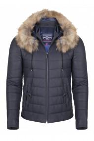Jacheta din piele Giorgio di Mare GI2339303 Bleumarin