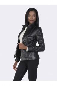 Jacheta din piele Giorgio di Mare GI2351136 Negru
