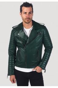 Jacheta din piele GIORGIO DI MARE GI2384087 Verde