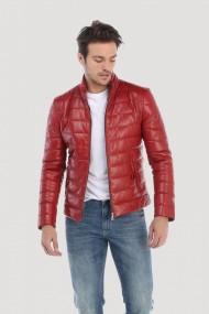 Jacheta din piele Giorgio Di Mare GI2527654 Rosu
