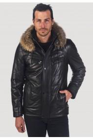 Jacheta din piele GIORGIO DI MARE GI2857138 Negru