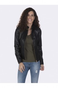 Jacheta din piele Giorgio di Mare GI3021456 Negru