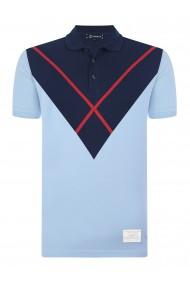 Tricou Polo GIORGIO DI MARE GI308424 Albastru