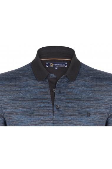 Tricou Polo GIORGIO DI MARE GI322989 Bleumarin