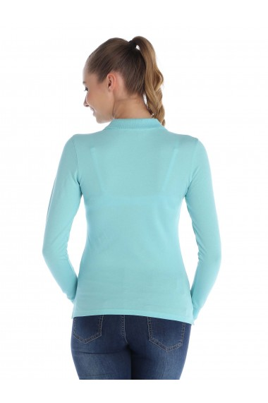 Bluza Polo cu maneca lunga GIORGIO DI MARE GI3481684 Albastru