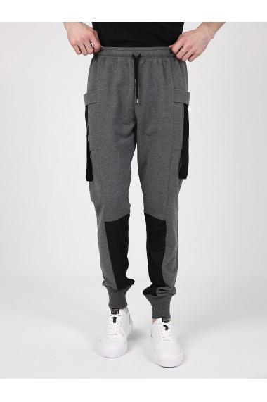 Pantaloni sport GIORGIO DI MARE GI353323 Gri