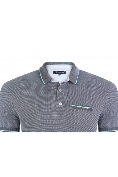 Tricou Polo GIORGIO DI MARE GI361461 Bleumarin