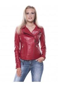 Jacheta din piele GIORGIO DI MARE GI3659320 Rosu