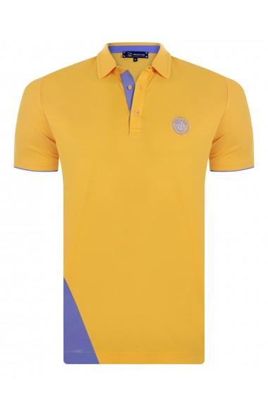Tricou Polo GIORGIO DI MARE GI369274 Galben