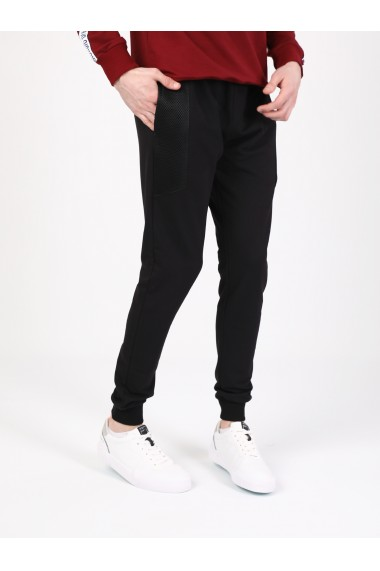 Pantaloni sport GIORGIO DI MARE GI395905 Negru