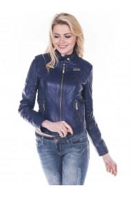 Jacheta din piele GIORGIO DI MARE GI4396421 Albastru