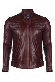 Jacheta din piele GIORGIO DI MARE GI4587647 Bordo