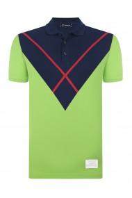 Tricou Polo GIORGIO DI MARE GI467593 Verde