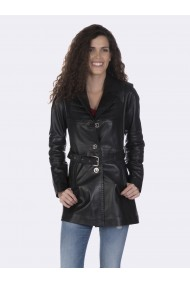 Jacheta din piele GIORGIO DI MARE GI4824553 Negru
