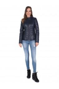 Jacheta din piele GIORGIO DI MARE GI5049070 Bleumarin