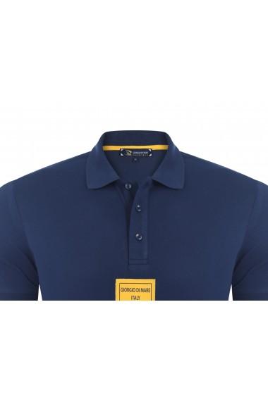 Tricou Polo GIORGIO DI MARE GI539010 Bleumarin