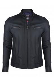Jacheta din piele GIORGIO DI MARE GI5573965 Bleumarin