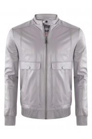 Jacheta din piele GIORGIO DI MARE GI5856606 Gri