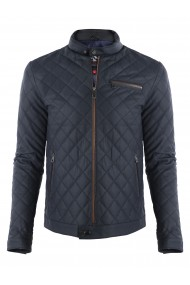 Jacheta din piele GIORGIO DI MARE GI5891356 Bleumarin