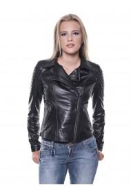Jacheta din piele GIORGIO DI MARE GI6193329 Negru
