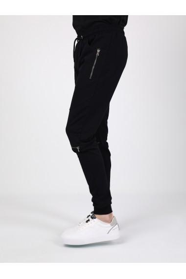Pantaloni sport GIORGIO DI MARE GI753315 Bleumarin