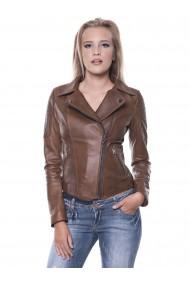 Jacheta din piele GIORGIO DI MARE GI7944315 Maro