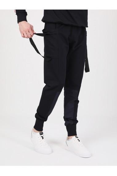 Pantaloni sport GIORGIO DI MARE GI852686 Bleumarin