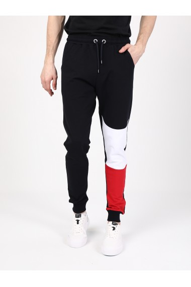 Pantaloni sport GIORGIO DI MARE GI892999 Bleumarin