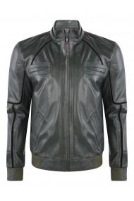 Jacheta din piele GIORGIO DI MARE GI9009645 Verde