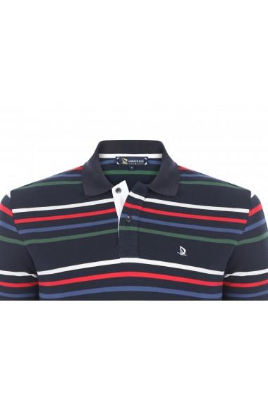 Tricou Polo GIORGIO DI MARE GI912093 Bleumarin