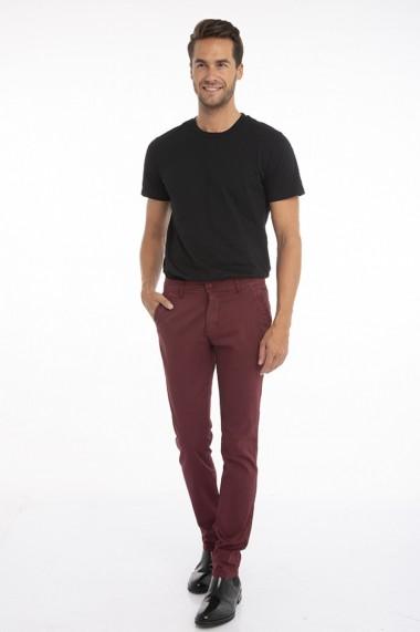 Pantaloni Jimmy Sanders 19W PM11001 BORDEAUX Bordo
