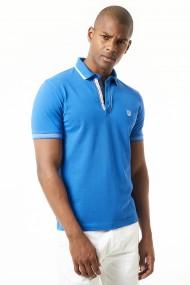 Tricou Polo Jimmy Sanders 20S JSMSSP0007 Albastru