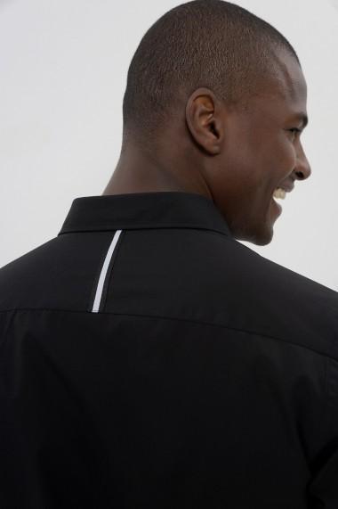 Camasa Jimmy Sanders 20W SHM3107 BLACK negru