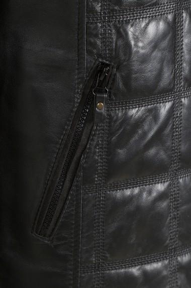 Jacheta din piele Jimmy Sanders JSLJM2009 Negru