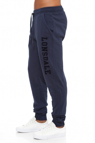 Pantaloni sport Lonsdale MAS-LOUAI16711-1 Bleumarin