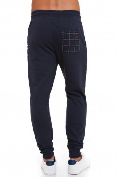 Pantaloni sport Lonsdale MAS-LOUAI523-2 Bleumarin