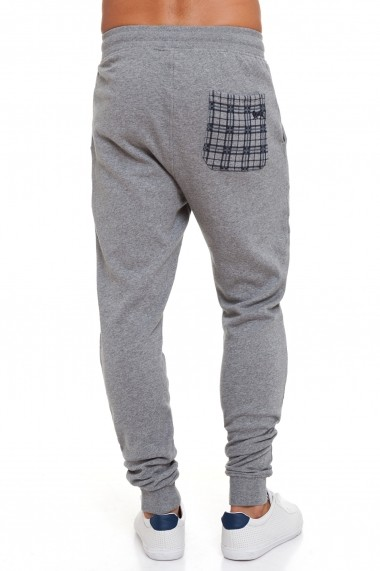 Pantaloni sport Lonsdale MAS-LOUAI523-3 Gri