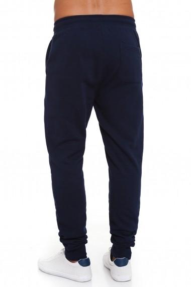Pantaloni sport Lonsdale MAS-LOUAI525-2 Bleumarin