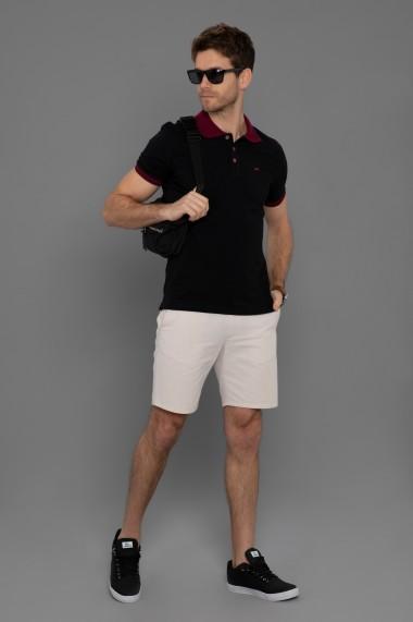 Tricou Polo Paul Parker PA107021 Negru