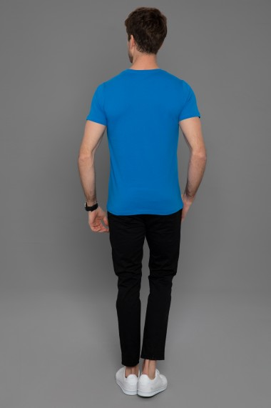 Tricou Paul Parker PA115337 Albastru